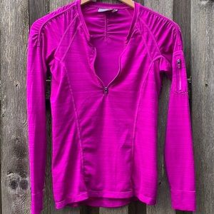 ATHLETA Pacifica Fitted Quick-Dry Long Sleeve Top